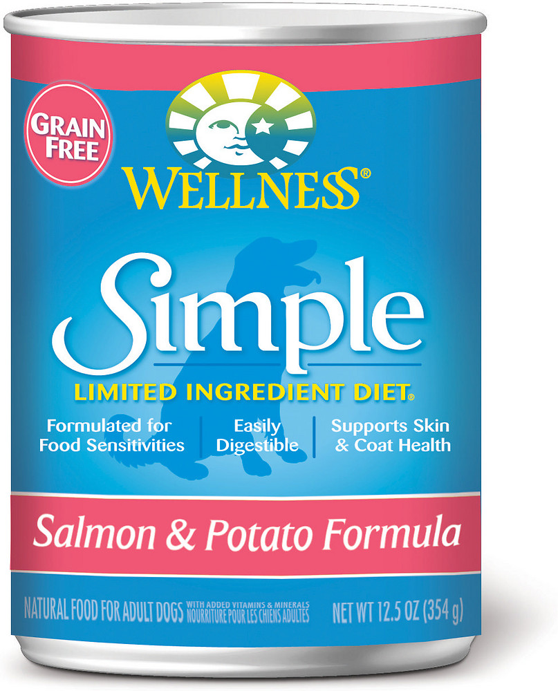 Simple Grain-Free Salmon & Potato Formula